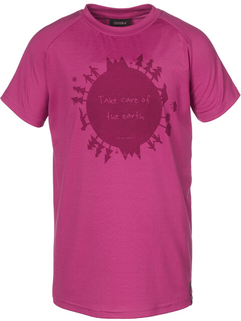 Isbjörn Earth - T-shirt manches courtes Enfant - rose